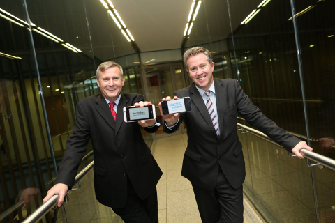 Alastair Blair, Country Managing Director for Accenture in Ireland and Paul Stapleton, General Manag ...