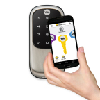 Yale Assure Bluetooth Lock makes your phone your house key.