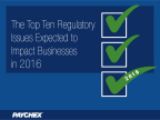 Paychex, Inc. has identified the top regulatory issues businesses should be aware of in 2016. (Graphic: Business Wire)