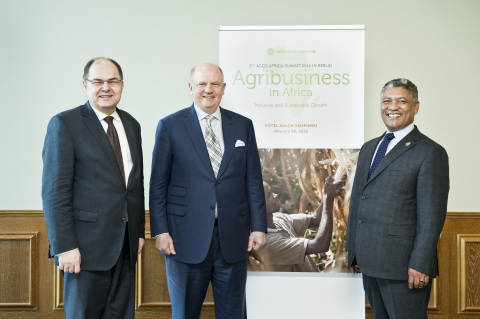 Christian Schmidt, Federal Minister of Food and Agriculture, Germany, Martin Richenhagen, AGCO Chair ...