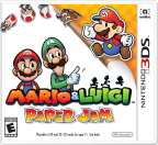 Two classic gaming universes collide when flat Paper Mario jumps off the page and into the world of Mario & Luigi in the Mario & Luigi: Paper Jam game, launching exclusively for the Nintendo 3DS family of systems on Jan. 22. (Photo: Business Wire)