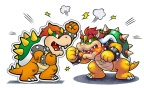 How will Bowser react when his paper doppelganger shows up in the same game? (Photo: Business Wire)