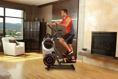 The Bowflex Max Trainer® optimizes cardio performance with a 14-minute interval workout. (Photo: Bus ...