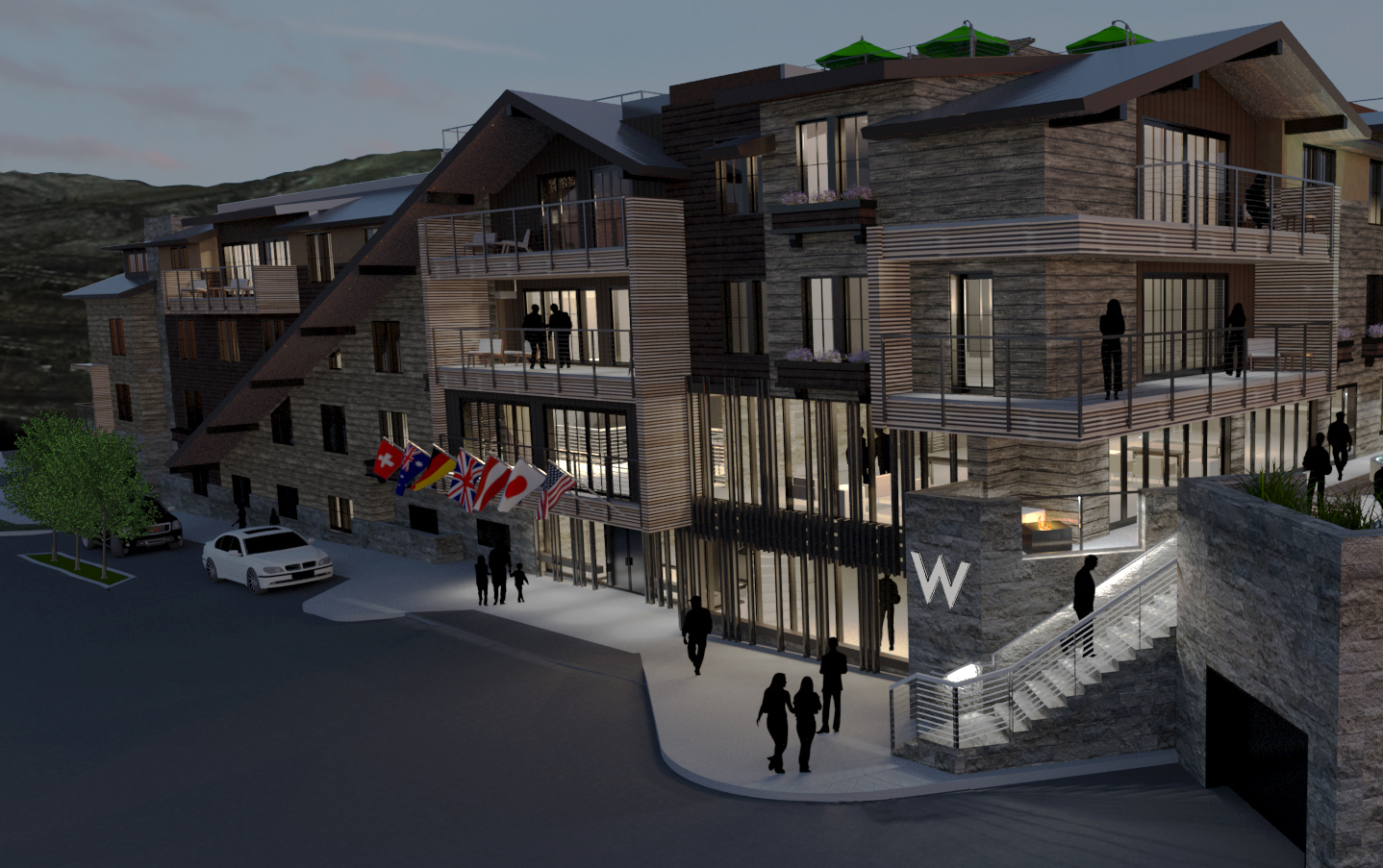 W Hotels Worldwide Hits The Slopes With W Aspen Business