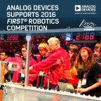 Analog Devices Partners with FIRST® to Support Next Generation of Problem Solvers and Innovators. (Graphic: Business Wire)