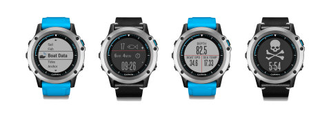 The quatix 3 is a marine GPS smartwatch equipped with important cruising, fishing and sailing capabilities. (Photo: Business Wire)