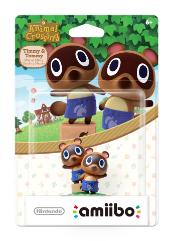 On March 18, new amiibo figures in the Animal Crossing series will launch in stores, including characters like Timmy & Tommy, Kapp'n and Rover. (Photo: Business Wire)