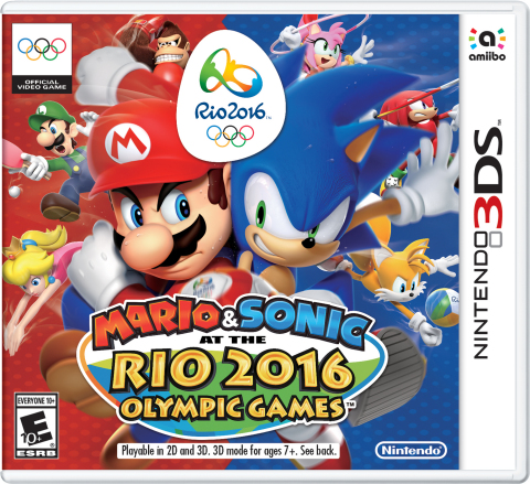 Fans who are ready to compete in Rio de Janeiro with Mario, Sonic and the gang in Mario & Sonic at the Rio 2016 Olympic Games will also have to warm up their amiibo-tapping fingers. (Photo: Business Wire)