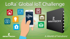 Semtech LoRa® Wireless RF Technology Featured at First Global IoT Challenge (Graphic: Business Wire)