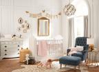 Pottery Barn Kids Star Nursery designed by Emily Current and Meritt Elliott for the new 'Emily & Meritt for Pottery Barn Kids' Collaboration. (Photo: Business Wire)