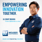 Global distributor Mouser Electronics will continue its popular Empowering Innovation Together(TM) Program with celebrity engineer Grant Imahara in 2016. To learn more about the exciting topics, visit www.mouser.com/empowering-innovation. (Graphic: Business Wire)