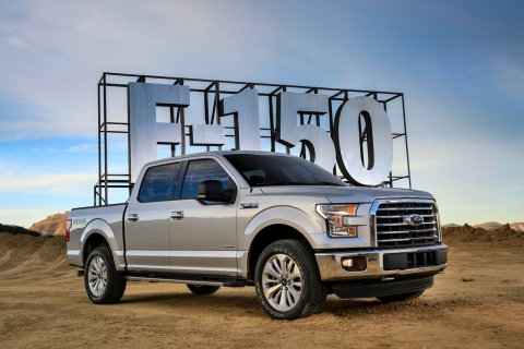 Auto Start-Stop technology will be standard across 100 percent of the EcoBoost®-equipped 2017 Ford F ...