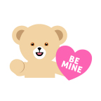 Example 1: Snuggle #BearYourHeart LOVEmoji