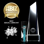 Trigg Labs wins the 2016 XBIZ Award for Sex Lubricant of the Year for their latest water and silicone hybrid lubricant Wet® Silk™. (Graphic: Business Wire)