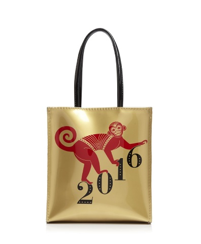 Bloomingdale's Little Monkey Bag tote inspired by the iconic Little Brown Bag (Photo: Business Wire)