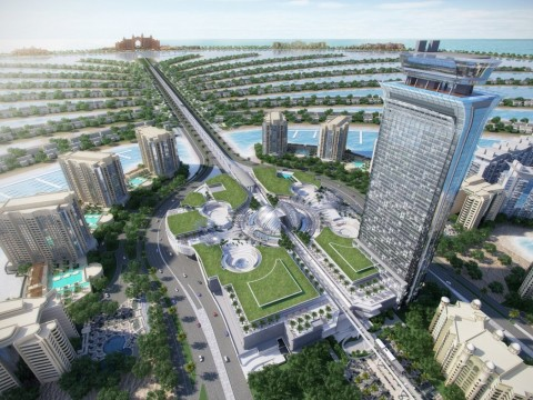 The Palm Tower on Palm Jumeirah (Photo: Business Wire)