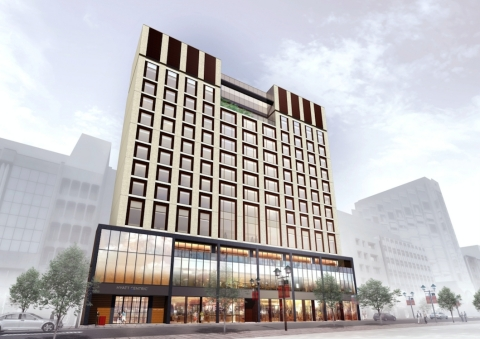 Expected to open in early 2018, Hyatt Centric Ginza Tokyo will be the first new-build Hyatt Centric hotel in Asia Pacific. (Photo: Business Wire)