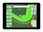 Farmers can easily monitor their progress with digitally displayed data as they pass through the field. (Photo: Business Wire)