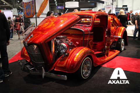 Axalta Coating Systems will feature Salvador Sierra's 1936 Ford Pickup painted by Adam Stone of Ston ...
