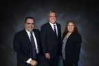 New Wells Fargo Commercial Banking team serving Bergen County, N.J. Pictured left to right: John Prol, Rick DeBel, Stacey Hamilton (Photo: Business Wire)