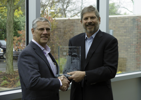 Celebrating 15 years of successful partnership: Michael H. McGarry, President and Chief Executive Of ...