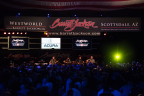 GRAMMY-award winning Zac Brown Band played during Barrett-Jackson's annual gala at WestWorld of Scottsdale on Jan. 25, 2016. (Photo: Business Wire)
