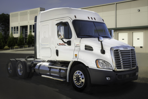 Ryder liquefied natural gas (LNG) vehicle. (Photo: Business Wire)