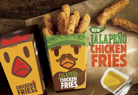 BURGER KING® Restaurants Introduce New Jalapeño Chicken Fries and Two New Shake Flavors (Photo: Busi ...