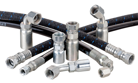 Eaton's new CNG hose products feature market-leading certifications and reduced delivery times. (Pho ...