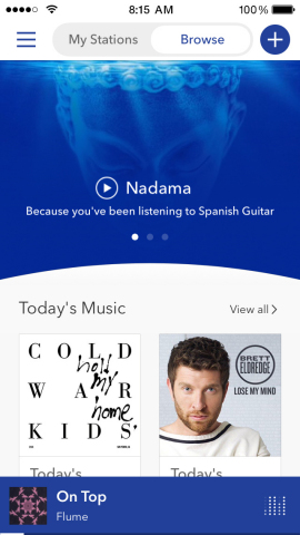 Pandora announces new destination to discover music (Graphic: Business Wire)