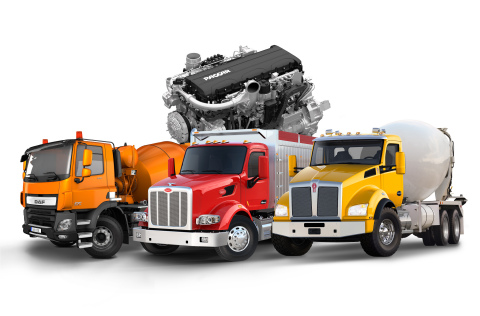 PACCAR's Vocational Vehicles with New PACCAR MX-11 Engine DAF CF, Peterbilt Model 567 and Kenworth T ...
