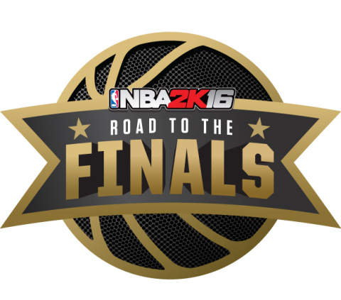 2K today announced that competitive gaming is officially coming to NBA 2K16 with NBA 2K16 Road to the Finals, an exciting new competition that merges simulation basketball with eSports and culminates over the course of the NBA Finals in June. (Graphic: Business Wire)