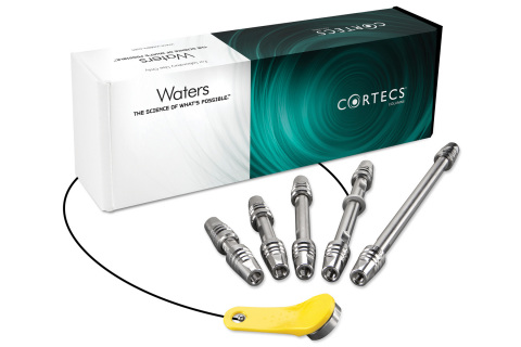 Waters® CORTECS® C8 and CORTECS Phenyl analytical columns feature solid-core particle technology and are designed for scientists who need to expand their chromatographic separation space while maximizing the speed, resolution and sensitivity of their small molecule HPLC, UHPLC or UPLC® separations. (Photo: Business Wire).