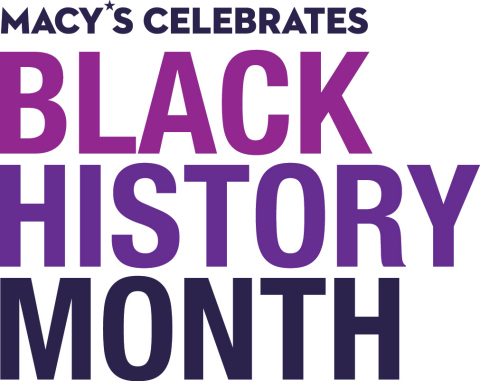 Macy's celebrates rising stars in salute of Black History Month this February. (Graphic: Business Wire)