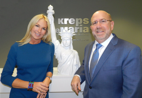 Miami-based Kreps DeMaria Public Relations & Marketing, led by industry veterans Sissy DeMaria and Israel Kreps, opens NYC office. (Photo: Business Wire)