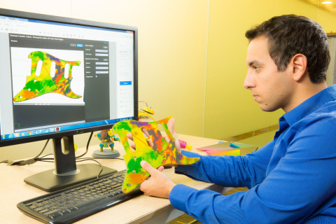 Stratasys Creative Colors Software powered by the Adobe 3D Color Print Engine introduces a simplified design-to-3D print workflow, accurate previews and new streamlined ultra-realistic color experience to 3D printing. (Photo: Business Wire)