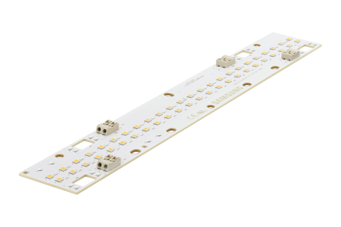 Samsung inFlux, a new lineup of high-flux, linear LED modules for industrial lighting (Photo: Busine ...