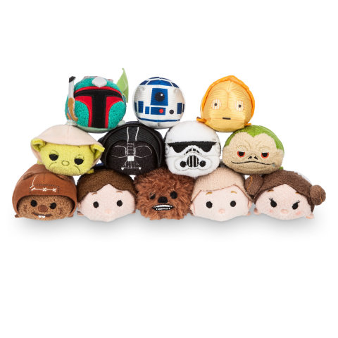 Star Wars Tsum Tsum collection to launch at Disney Store on February 16 (Photo: Business Wire)