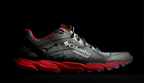 Example of Columbia Montrail badging to be used on upcoming line trail running apparel, footwear and ...