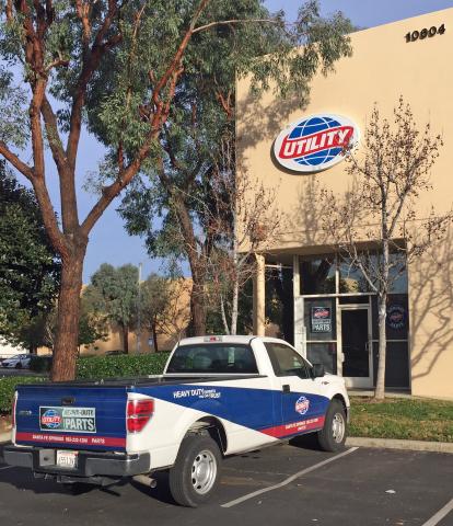 Utility Trailer Sales of Southern California, LLC in Santa Fe Springs, California. (Photo: Business  ...