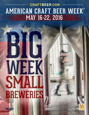 Craftbeer.com Celebrates American Craft Beer Week in all 50 states, May 16-22, 2016 (Photo: Business ...