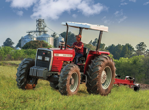 Massey Ferguson 300 Series tractor (Photo: Business Wire)