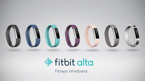 Introducing Fitbit Alta: a slim, sleek fitness wristband that's as versatile as your personal style – while also helping you make the most of your workouts. (Photo: Business Wire)