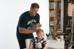 Dallas Cowboys' Jason Witten partners with Pantene to create a #DadDo on his daughter. (Photo: Business Wire)