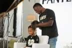 New Orleans Saints' Benjamin Watson partners with Pantene to create a #DadDo on his daughter. (Photo: Business Wire)