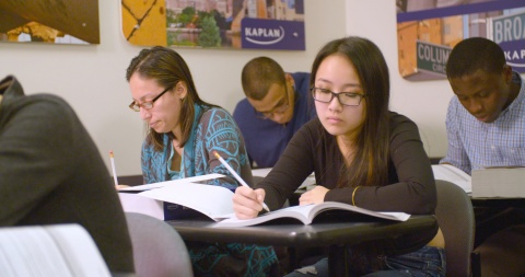 Students prepare for the new SAT, which launches in March 2016. (Photo: Business Wire)