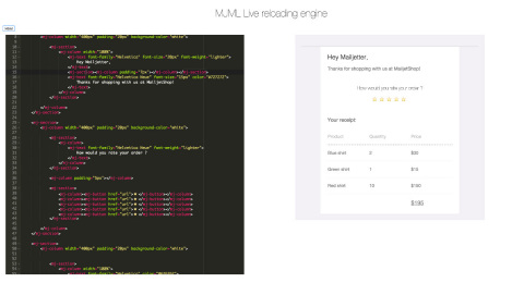 Mailjet's MJML Launches: Open Source Markup Language Cuts Coding Complexity from Emails (Graphic: Business Wire)