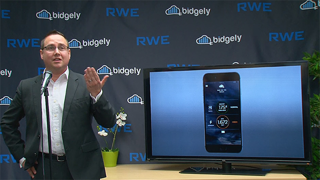 RWE CEO Peter Terium and Bidgely CEO Abhay Gupta officially launch disaggregation in Europe at a ceremony at Bidgely offices in Silicon Valley.