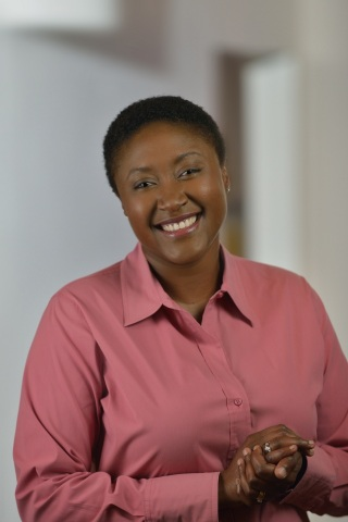 Aicha Evans, corporate vice president and general manager of the Intel Communication and Devices Gro ...