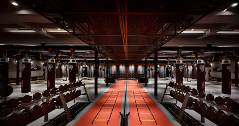 Soraa's LED lamps have been installed at a new, high-end boxing facility, Boxing Plus Wellness Cente ...